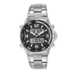 Armitron  Men Silver Stainless Steel Strap Ana-Digi Watch 20/5182BKSV image here
