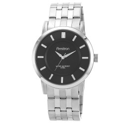 Armitron  Men Silver Stainless Steel Strap Analog Watch 20/4962BKSV image here