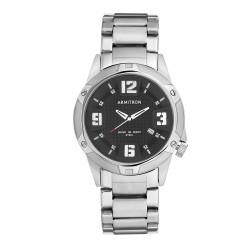 Armitron  Men Silver Stainless Steel Strap Analog Watch 20/4692BKSV image here