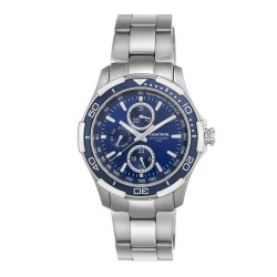 Armitron  Men Silver Stainless Steel Strap Chronograph Watch 20/4677BLSV image here