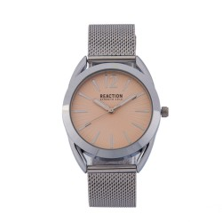 Kenneth Cole Reaction  Womens Silver Metal Strap Analog Watch RK50108020 image here
