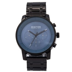 Kenneth Cole Reaction  Mens Black Metal Strap Analog Watch RK50082009 image here