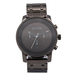 Kenneth Cole Reaction  Mens Gunmetal Metal Strap Analog Watch RK50082013 image here
