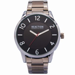 Kenneth Cole Reaction  Mens Silver Metal Strap Analog Watch RK50095005 image here