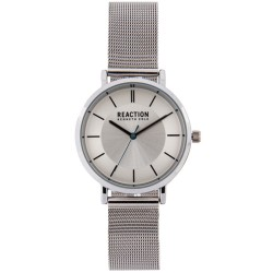 Kenneth Cole Reaction  Womens Silver Mesh Strap Analog Watch RK50105001 image here