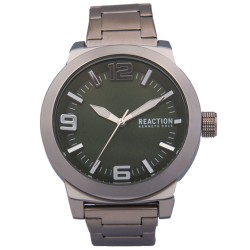 Kenneth Cole Reaction  Mens Silver Metal Strap Analog Watch RK50092008 image here