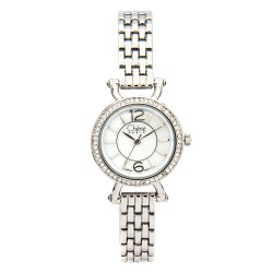 Cherie Paris Trina Women Silver Stainless Steel Strap Watch CHR-1743-IPS image here