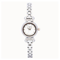 Cherie Paris Trixie Women Silver Stainless Steel Strap Watch CHR-1744-IPS image here