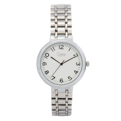 Cherie Paris Freya Women Silver Stainless Steel Strap Watch CHR-1750L-IPS image here