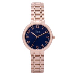 Cherie Paris Freya Women Rose Gold Stainless Steel Strap Watch CHR-1750L-IPRG image here