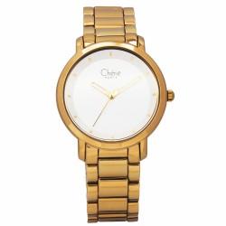 Cherie Paris Mara Women Gold Stainless Steel Strap Watch CHR-1758L-IPG image here