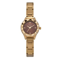 Cherie Paris Fontaine Women Gold Stainless Steel Strap Watch CHR-1747L-IPG image here