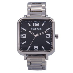 Zoo York  Men Silver Stainless Steel Strap Watch ZY-1749-Sil image here
