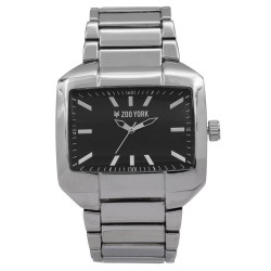 Zoo York  Men Silver Stainless Steel Strap Watch ZY-1750-Sil image here