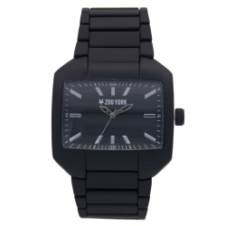 Zoo York  Men Black Stainless Steel Strap Watch ZY-1750-Blk image here