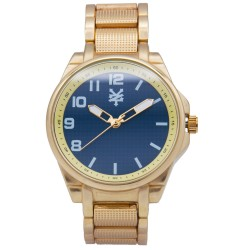 Zoo York  Men Gold Stainless Steel Strap Watch ZY-1742-Gld image here