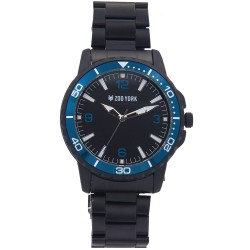 Zoo York  Men Black Stainless Steel Strap Watch ZY-1747-Blu image here