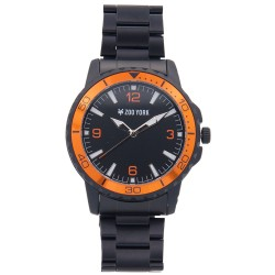 Zoo York  Men Black Stainless Steel Strap Watch ZY-1747-Org image here