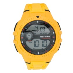 Mossimo EJ Unisex Yellow Rubber Strap Digital Watch MS-1702G-YLW   image here