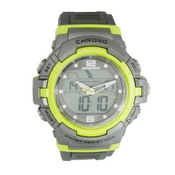 Mossimo Dominic Unisex Grey Rubber Strap Digital Watch MS-1704G-GRY   image here