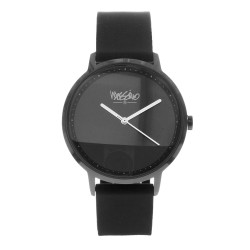 Mossimo Charles Unisex White Silicone Strap Analog Watch MS-1708G-IPBBLK image here