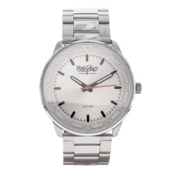 Mossimo Kramer Unisex Silver Stainless Steel Strap Analog Watch MS-1721G-SSWHT image here