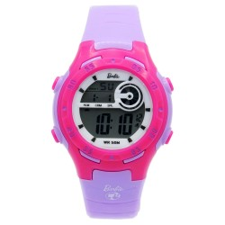 BARBIE Women Purple Rubber Strap Sporty Digital Watch BBMR-201L-B image here
