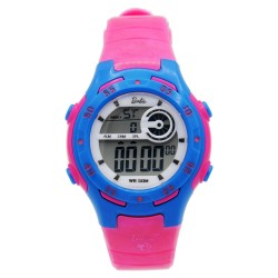 BARBIE Women Fuchsia Rubber Strap Sporty Digital Watch BBMR-201L-C image here