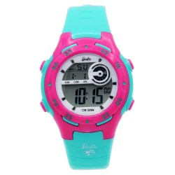 BARBIE Women Turquoise Rubber Strap Sporty Digital Watch BBMR-201L-D image here