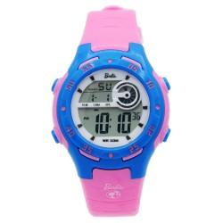 BARBIE Women Pink Rubber Strap Sporty Digital Watch BBMR-201L-E image here