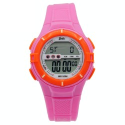 BARBIE Women Pink Rubber Strap Sporty Digital Watch BBMR-205L-A image here