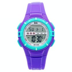 BARBIE Women Violet Rubber Strap Sporty Digital Watch BBMR-205L-B image here