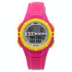 BARBIE Women Fuchsia Rubber Strap Sporty Digital Watch BBMR-205L-D image here