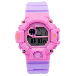BARBIE Women Purple Rubber Strap Sporty Digital Watch BBMR-208L-A image here