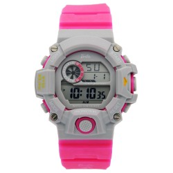BARBIE Women Fuchsia Rubber Strap Sporty Digital Watch BBMR-208L-B image here