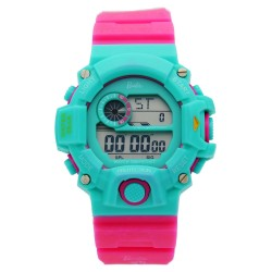 BARBIE Women Fuchsia Rubber Strap Sporty Digital Watch BBMR-208L-C image here