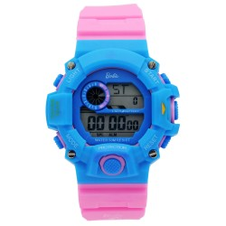 BARBIE Women Pink Rubber Strap Sporty Digital Watch BBMR-208L-D image here
