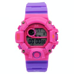 BARBIE Women Violet Rubber Strap Sporty Digital Watch BBMR-208L-E image here