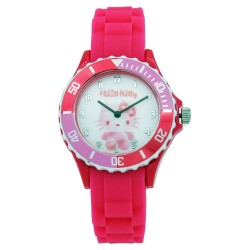 Hello Kitty Girls Pink Silicon Strap Watch HKI-SS17-104 image here