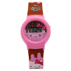 Hello Kitty Girls Multicolor Plastic Strap Watch HKRJ6B-16 image here