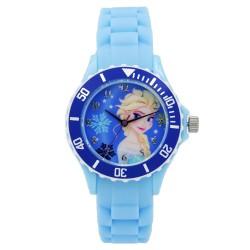Disney Frozen  Light Blue Silicone Strap Analog Watch DISNEY-FROZEN-101C image here