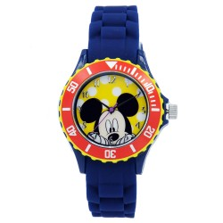 Disney Mickey Mouse & Friends  Navy Blue Silicone Strap Analog Watch DISNEY-MICKEY-102C image here