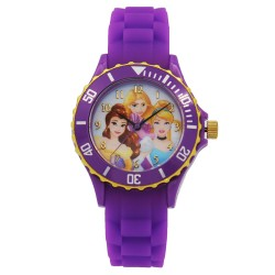Disney Princess  Violet Silicone Strap Analog Watch DISNEY-PRINCESS-101C image here