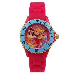 Disney Princess  Pink Silicone Strap Analog Watch DISNEY-PRINCESS-102C image here