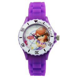 Disney Sofia The First  Violet Silicone Strap Digital Watch DISNEY-SOFI-101C image here