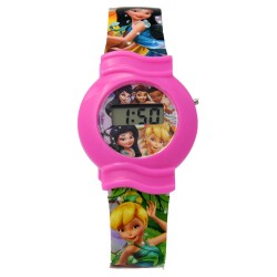 Disney Faries Girls Plastic Strap Digital Watch FIRJ6A-18 image here