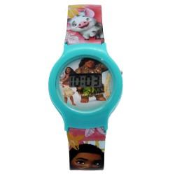 Disney Moana Girls Plastic Strap Digital Watch MARJ6A-18 image here