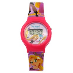 Disney Tangled Girls Plastic Strap Digital Watch TARJ6A-18 image here