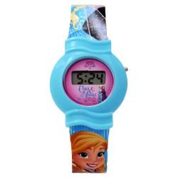 Disney Frozen Plastic Strap Digital Watch FRRJ6D-17 image here