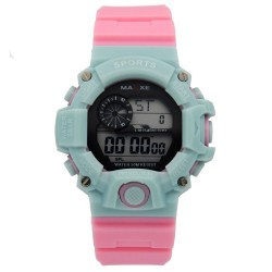 MAXXE Girls Rubber Strap Digital Watch MXMR-208L-3A image here